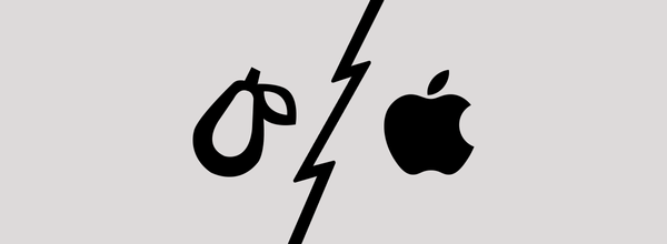 Apple Sues Prepear App for Its Pear Logo