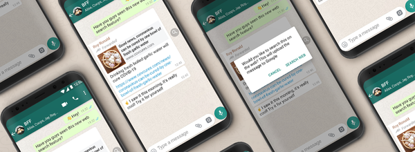 WhatsApp Adds Search the Web Feature to Fight Misinformation