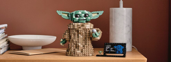 Lego Is Releasing a Baby Yoda Set Just in Time for the Mandalorian Season 2 Premiere