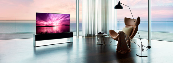LG Announced the Launch of the World's First Rollable TV
