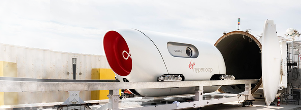 Virgin Hyperloop Completed Its First Test Ride With Actual Passengers