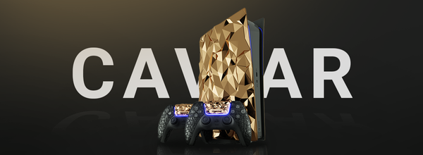 Caviar Brand Unveils PS5 Limited Edition With 20 Kilograms of Solid Gold