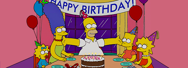 What Is Today? The Simpsons' Birthday
