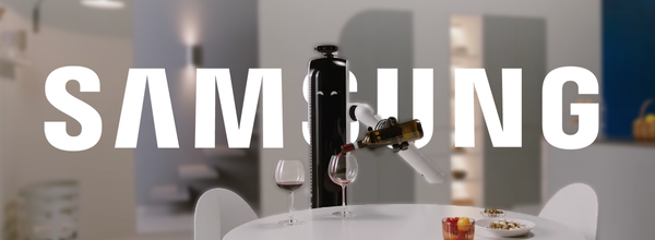 Samsung Is Developing a Wine-Pouring Robot