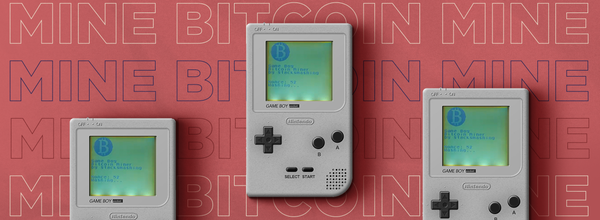 Nintendo Game Boy Can Now Mine Bitcoin