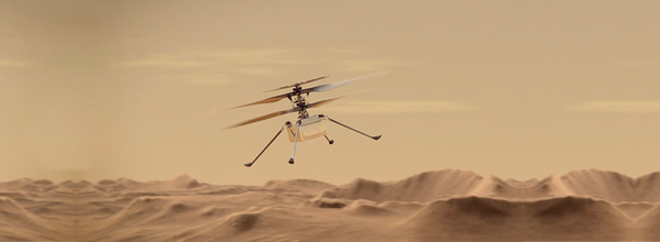 NASA's Ingenuity Helicopter Touches Down on Mars and Prepares for Its First Flight